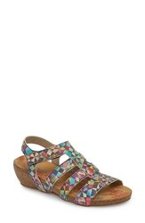 Cloud Delta Wedge Sandal Mystere Leather