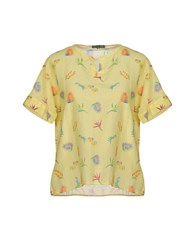 Scaglione Blouses Yellow