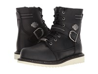 Harley Davidson Darton Black Lace Up Boots