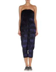 Les Prairies De Paris Pant Overalls Dark Purple