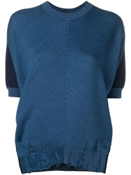 Junya Watanabe Relaxed Fit Top Blue