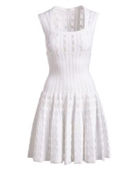 Alaia Dress Optique Wh