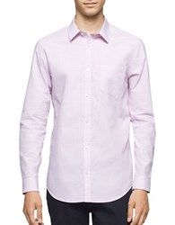 Calvin Klein Infinite Cool Square Cross Dobby Shirt Cotton Candy