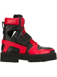 Hood By Air 'Avalanche' Boots Rubber Leather Neoprene Black