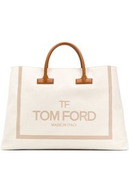 Tom Ford Shopping Bag Tote Neutrals