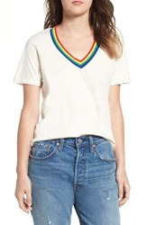 Project Social T Over The Rainbow Tee Ivory
