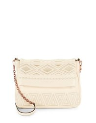 Aimee Kestenberg Chain Leather Shoulder Bag Vanilla