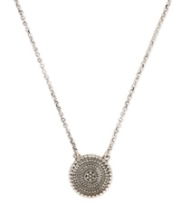 Lucky Brand Silver Tone Tribal Pendant Necklace
