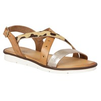 Lotus Tigerlily Flat Sandals Tan