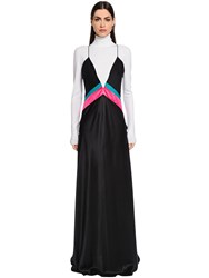 Vionnet Silk Satin Long Dress