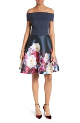 Ted Baker Women's London Nersi Fit And Flare Dress