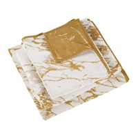 Abyss And Habidecor Marbre Towel 840 Gold White