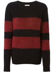 Each X Other Block Stripe Sweater Black