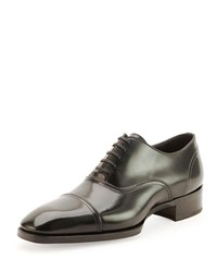 Tom Ford Gianni Cap Toe Lace Up Shoe No Color