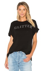 Wildfox Couture Glitter Sonic Tee Black