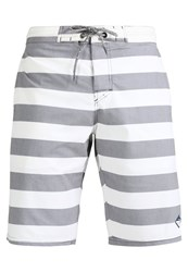 Brunotti Harbour Swimming Shorts Pearl Grey Dark Grey