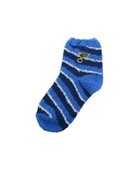 For Bare Feet St. Louis Blues Sleep Soft Candy Striped Socks