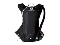 Salomon Agile 7 Set Black Iron White 1 Backpack Bags