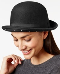 Bcbgeneration Faux Pearl Bowler Hat