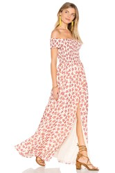 Tularosa Henderson Maxi Dress Rust
