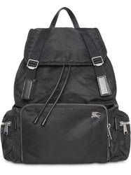 Burberry The Extra Large Rucksack In Aviator Nylon Black