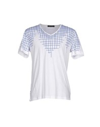 Guess By Marciano Topwear T Shirts Men White