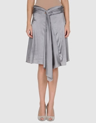Imperial Star Imperial Knee Length Skirts Grey