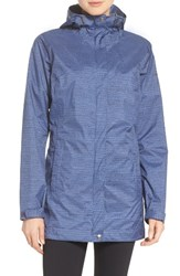 Columbia Women's Splash A Little Omni Tech Tm Waterproof Rain Jacket Nocturnal Dotty Dye Print