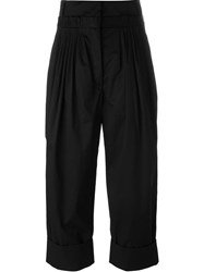 J.W.Anderson J.W. Anderson Draped Cropped Pants Black