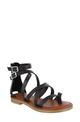 Mia Women's Agitha Gladiator Sandal Black