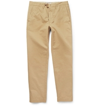 Officine Generale Fisherman Cotton Twill Chinos Gray