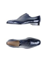 Sutor Mantellassi Lace Up Shoes Dark Blue