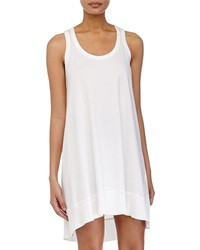 W By Wilt Trapeze Racerback Tank Dress White