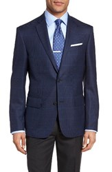 Nordstrom Men's Men's Shop Classic Fit Windowpane Wool Sport Coat