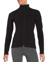Steve Madden Full Zip Moto Jacket Black