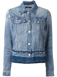 J Brand Deena Denim Jacket Blue