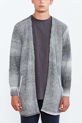 Your Neighbors Longer Open Cardigan Grey