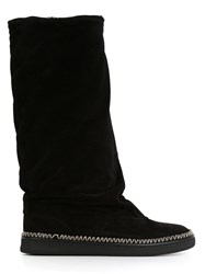 Sartore Slouchy Mid Calf Boots