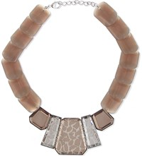 Armani Collezioni Beaded Necklace Sand