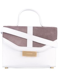 Visone Angie Small Shoulder Bag Women Leather One Size White