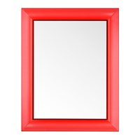 Kartell Francois Ghost Mirror Red Large