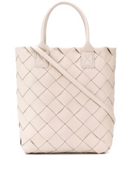 Bottega Veneta Maxi Cabat 30 Tote Bag White