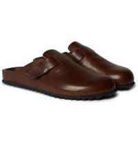 Officine Creative Agora Leather Sandals Brown