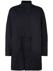 Ahirain Oversized Coat Black