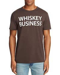 Chaser Whiskey Business Short Sleeve Tee 100 Exclusive Vintage Black
