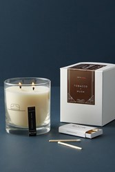 Anthropologie Ranger Station Boxed Candle Brown