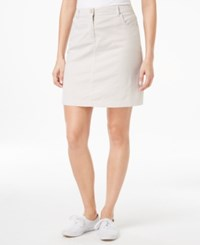 Karen Scott Pinstripe Skort Only At Macy's