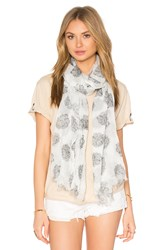 American Vintage Caldwell Scarf White