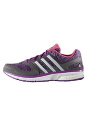 Adidas Performance Questar Neutral Running Shoes Shock Purple White Granite