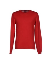 Blauer Sweaters Red